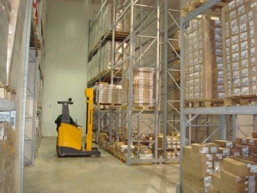 Storing products - Refrigerated Warehouse Finelco
