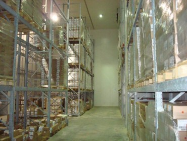 Refrigerated Warehouse and Storing products
