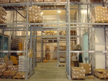 Refrigerated Warehouse for fruits, vegetables and food products